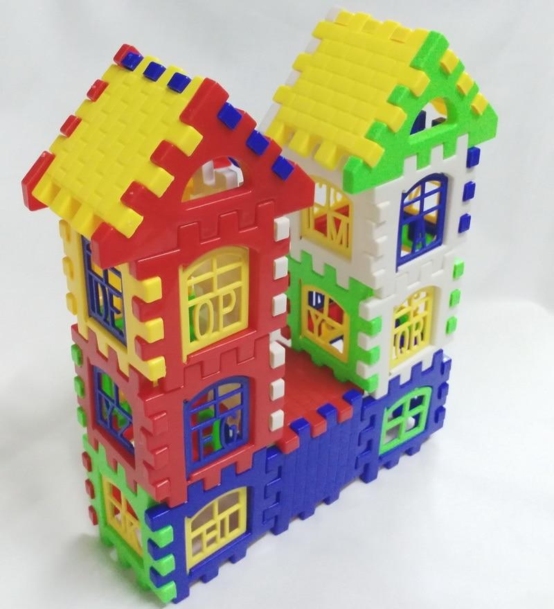 24pcs House Building Blocks Baby Educational Learning ...