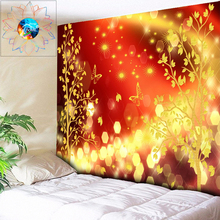 Stunning Wall Cloth Tapestry Wall Hanging Psychedelic Decorative Wall Tapestry Music Bar Hippie Tapestry Large Boho Wall Art wall art decorative three snowmen pattern tapestry