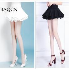 Короткая женская юбка с рюшами, высокая талия, галстук-бабочка, а-силуэт, юбки для женщин, белый, черный, мини-рок,, летняя пляжная одежда с цветами