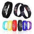 Mens Womens Watch Sport Style Watches Men Boys Rubber LED Clock Date Bracelet Digital Wrist Watch 13 Colors