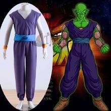 Athemis 2015 Dragon Ball Z  Piccolo Daimao purple uniform Cosplay Costumes Sportswear Halloween Suppliers