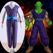 Athemis 2015 Dragon Ball Z Piccolo Daimao purple uniform Cosplay Costumes Sportswear Halloween Suppliers
