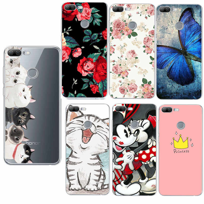 TPU Soft Case For Huawei Mate 10 Lite Silicone Phone Cases Cover For Huawei P20 Lite Honor 9 P9 Lite Mini P Smart Coque Capa