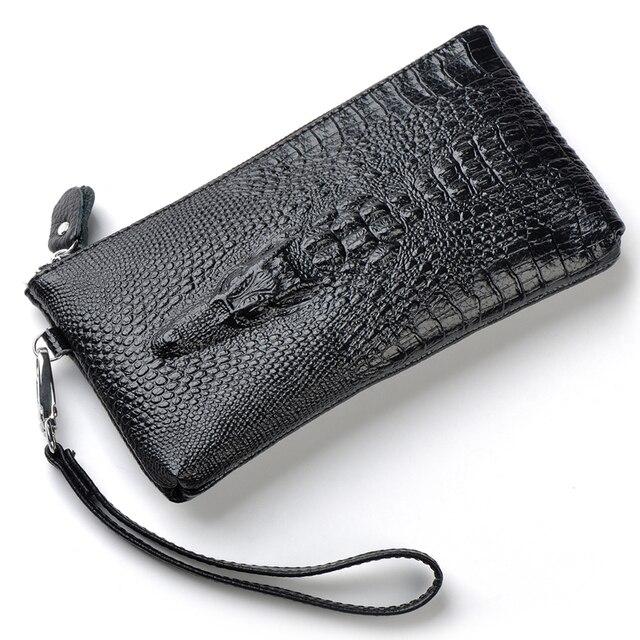 women bag clutch purses and handbags high quality genuine leather crocodile day clutch bolsa feminina clutches women hand bag