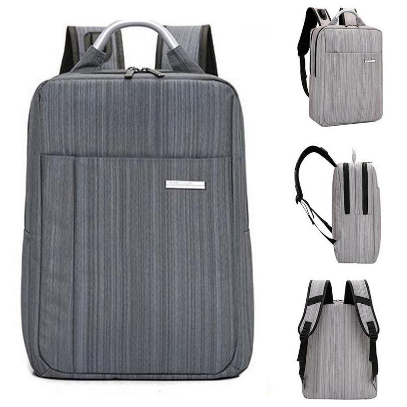 Business Man Bag Trend Laptop Bag USB Smart Charging Shoulder Backpack Computer Leisure Bag Male Daypack Women Mochila