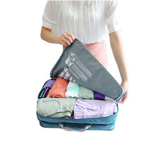 Size Large 2 compartments for Packing Travel Accessories Durable Polyester Zipper Travel Packing Cubes