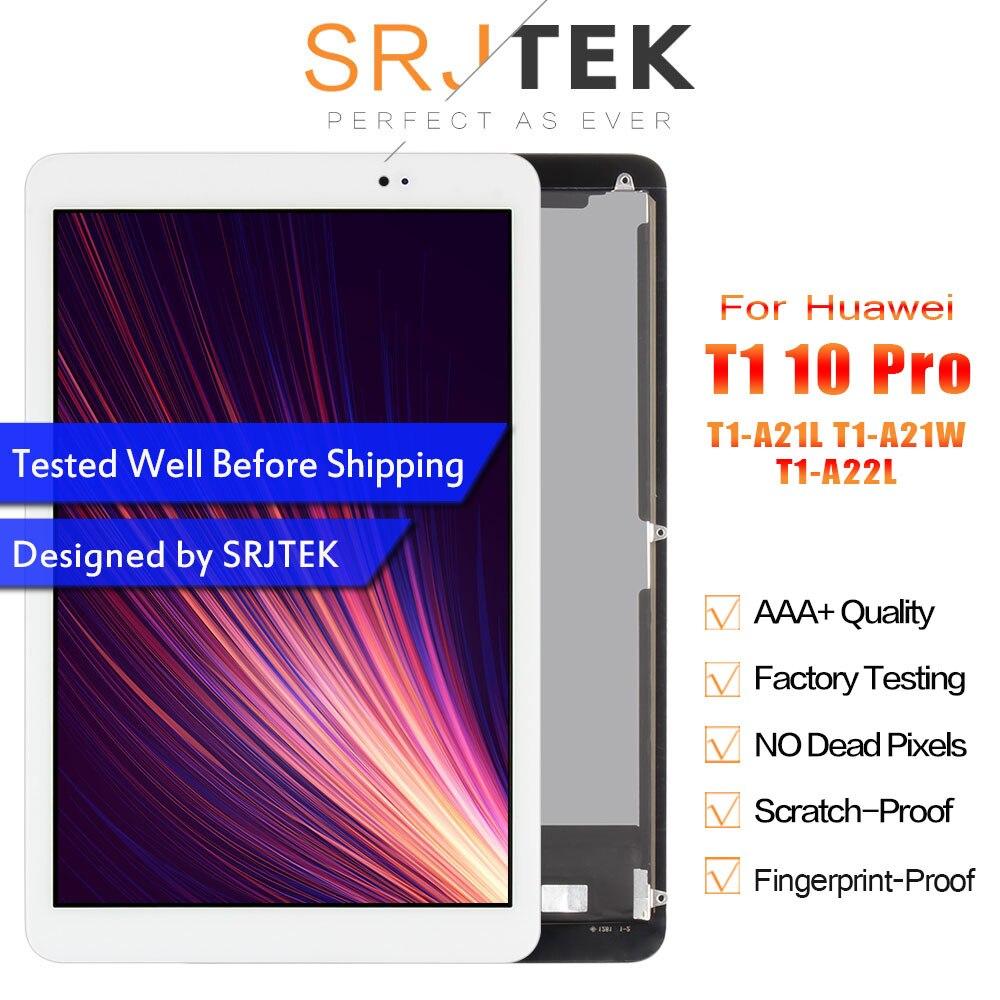 SRJTEK 10.1 For Huawei Mediapad T1 10 Pro LTE Touch Screen T1-A21L LCD Display T1-A21W T1-A22L Matrix Digitizer Sensor Assembly