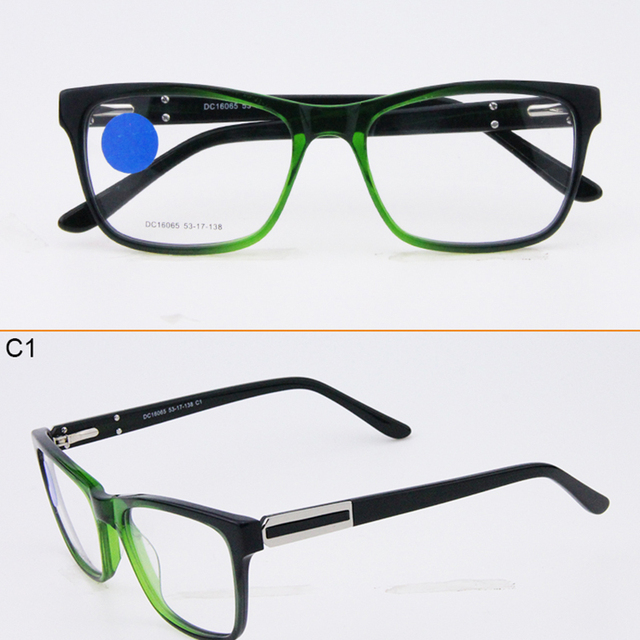 40b8aaa08dad China Factory Glasses Double Color Optical Frame Cheap Stock Eyewear Frame  Optical Glasses Unbreakable Top Quality DC16065