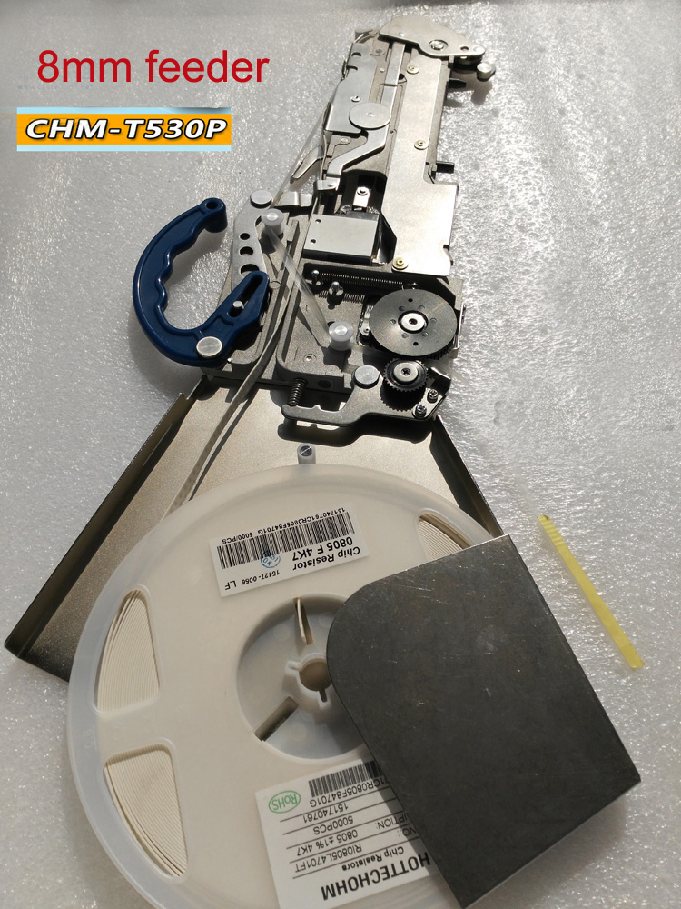 Yamaha Pneumatic CL Feeder (8mm*4mm) , For SMT Pick And Place Machine. SMT Spare Parts