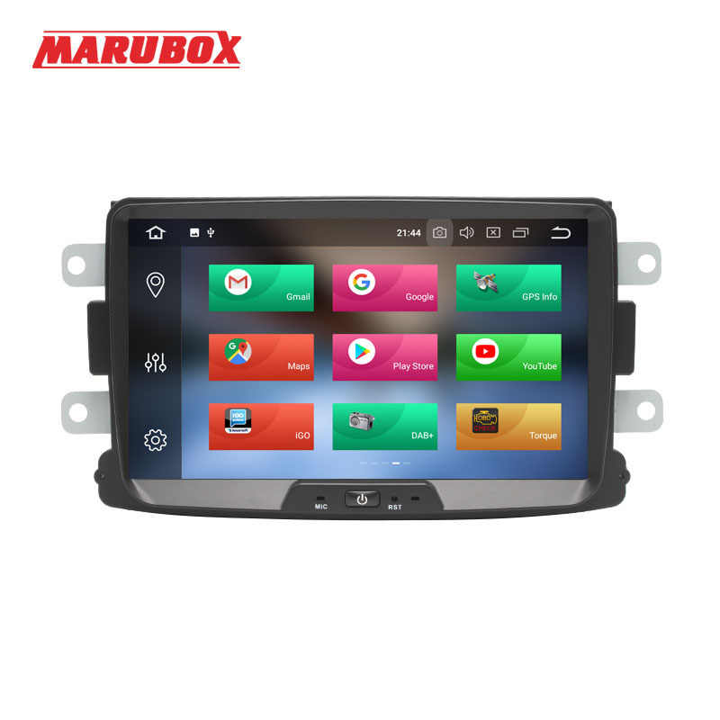 MARUBOX 1Din רדיו אנדרואיד 9 4 GB RAM עבור רנו הדאסטר 2010-2015, לוגן, sandero GPS Navi סטריאו לרכב מולטימדיה נגן 8A609PX5
