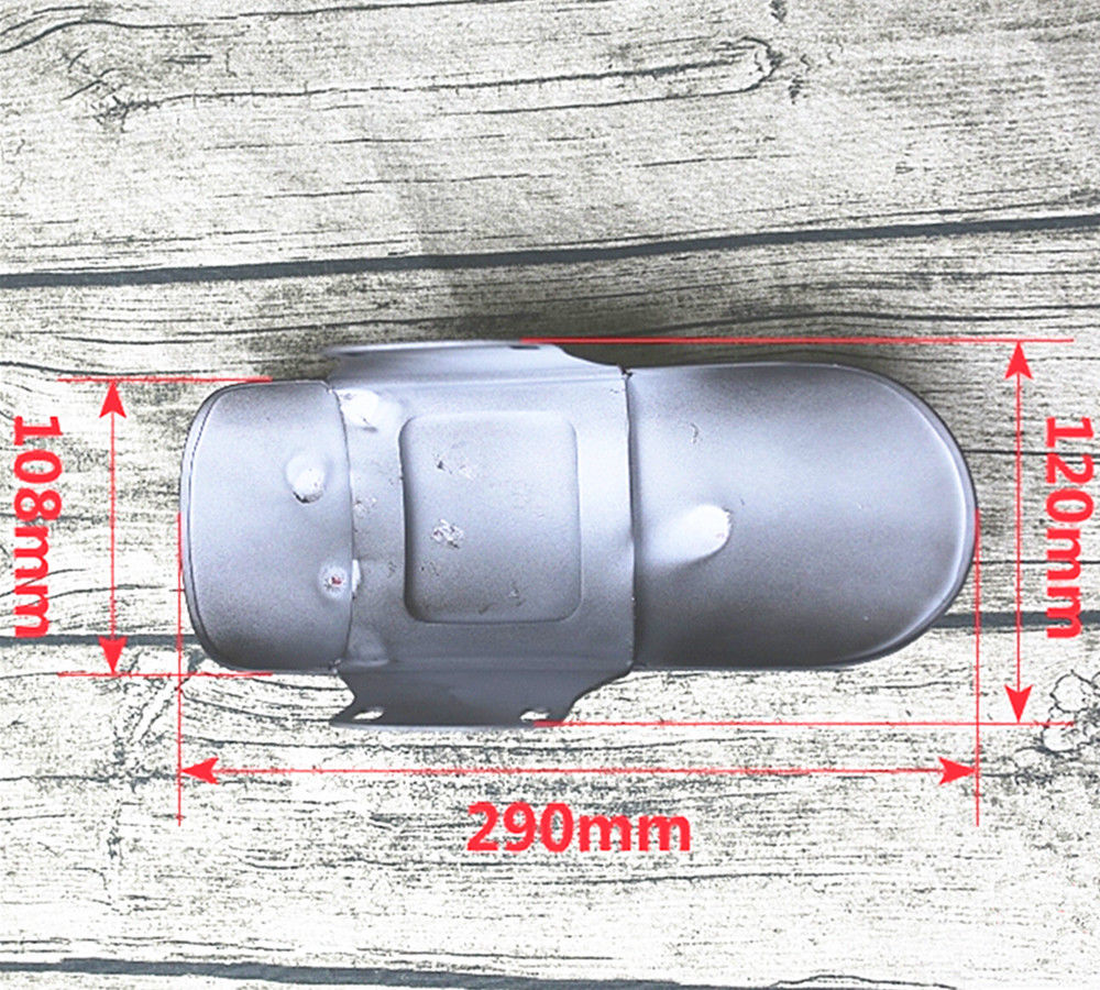 Cafe Racer Motorcycle Ultra-short Front Mud Dust Guard Fender for GN125