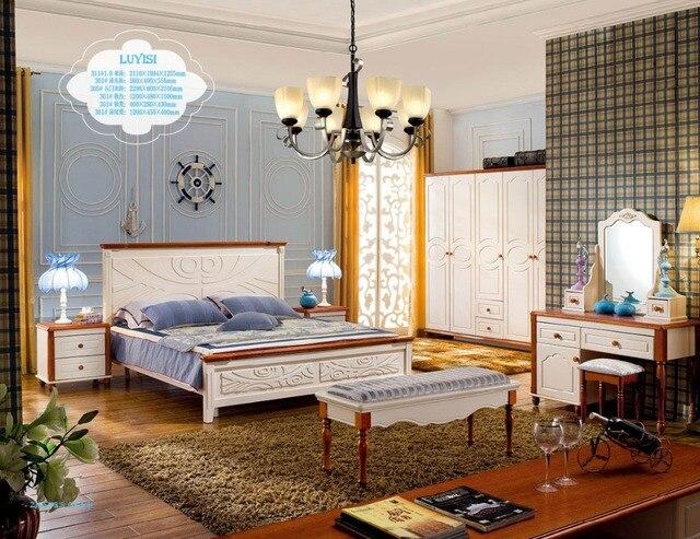 Hout Slaapkamer Meubels : Moderne slaapkamer meubilair 2016 zacht bed muebles para casa