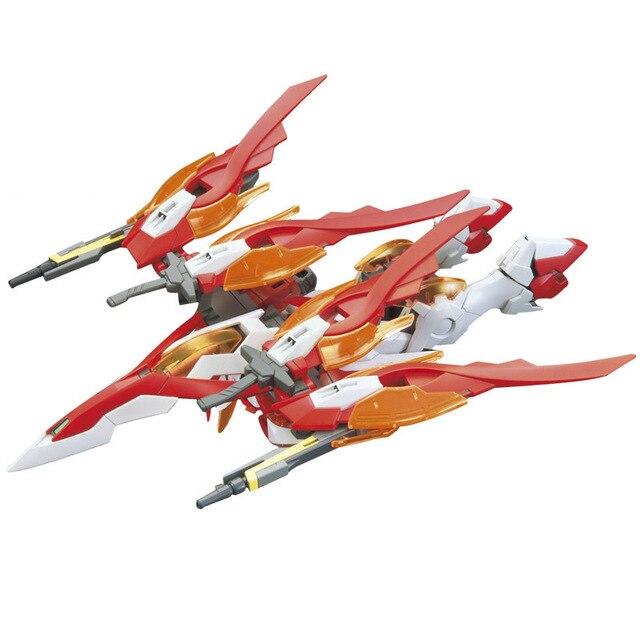 Anime Japan 1/144 Wing gundam zero Honoo Transformable model Puzzle assembled Robot hot kids toys Action Figure gunpla juguetes 1