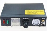 Oferta Profesional preciso Digital Auto pegamento dispensador pasta de soldadura líquido controlador gotero