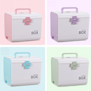 Image 5 - Home First Aid Kit Medicine Box Storage Box Plastic Container Emergency Kit Portable Multi layer Large Capacity Medicine Chest