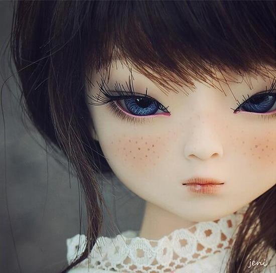 HeHeBJD 1 4 Girl Dami bjd open eyes or ELF eyes beautiful girls for sale free
