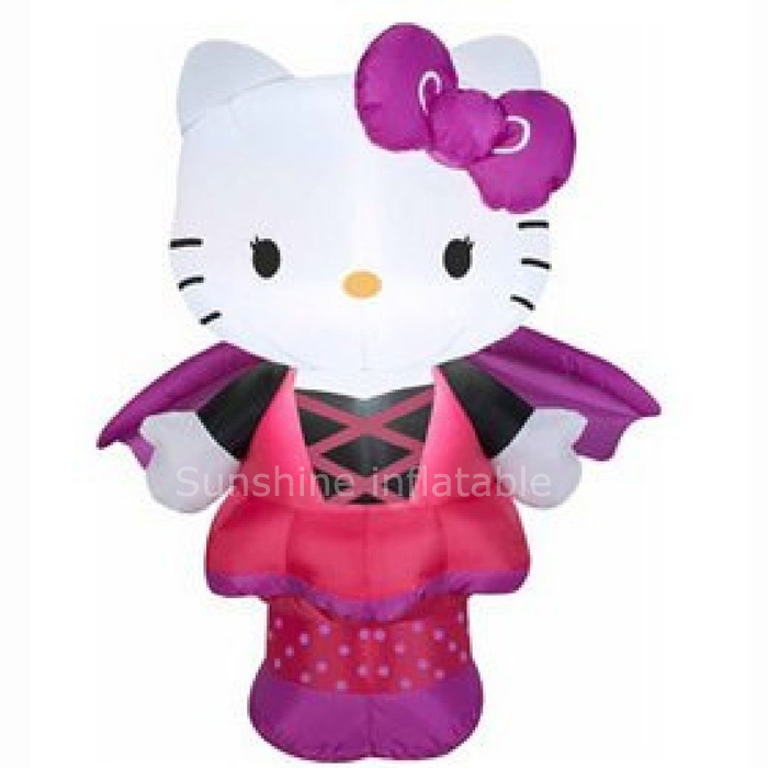 giant 3m airblown inflatables sanrio hello kitty as bat with led light halloween decoration in party diy decorations from home garden on aliexpresscom