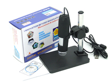 2MP 1-50X/800X USB Microscope For Science Inspection Handheld Endoscope