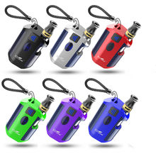 10pcs portable mini box mod vapeThick CBD Oil tank electronic cigarette 650mAh Battery 510 thread CBD led screen smoking e cig(China)