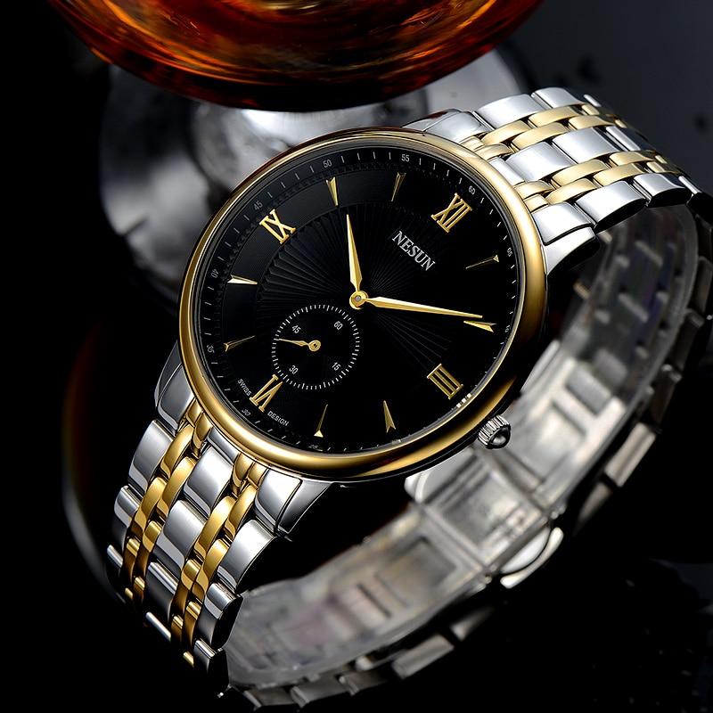 Nesun Switzerland Luxury Brand Watch Men Japan MIYOTA Quartz Movement Lover
