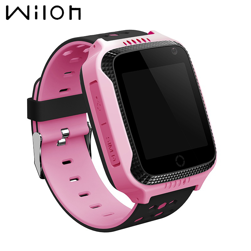 Hot Gps Watch Tracker Kids Watch Flashlight Camera Touch Screen Sos Call Location Baby Watches Smart Wristwatches Q528 Y21