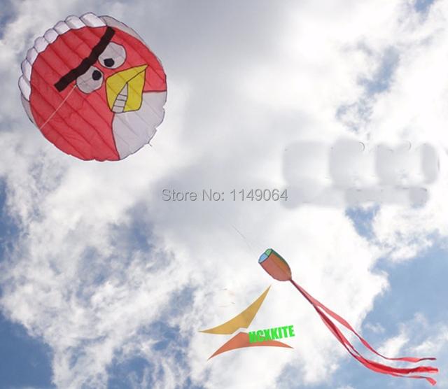 Frete grátis macio de alta qualidade pássaro pipa com linha punho nylon ripstop tecido pipa linha de pipa crianças pipas fábrica weifang