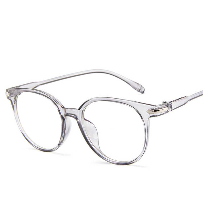 26a210c20420 2019 Fashion Women Glasses Frame Men Eyeglasses Frame Vintage Round Clear  Lens Glasses Optical Spectacle Frame