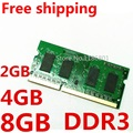 New Sealed DDR3 1066/1333/1600mhz PC3/PC3L 12800S 2Rx8/1Rx8 1GB/2GB/4GB/8GB Laptop RAM Memory / Free Shipping!!!