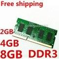 Nuevo Sellado DDR3 1066/1333/1600 mhz PC3/PC3L 12800 S 2Rx8/1Rx8 1 GB/2 GB/4 GB/8 GB Memoria RAM Del Ordenador Portátil/Envío Libre!!!