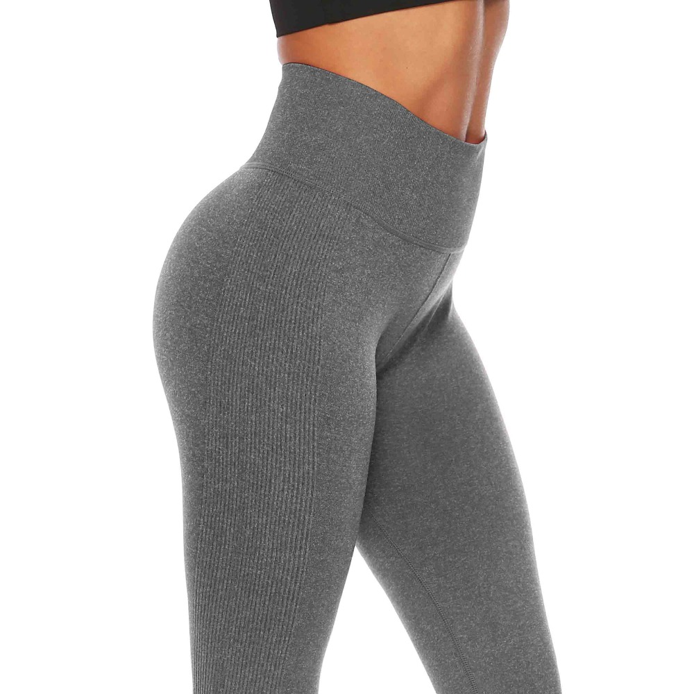 High Waist Tummy Control Skinny Leggins Women Seamless Fitness Leggings Women Push Up Pants Workout Casual Wear Women Leggings