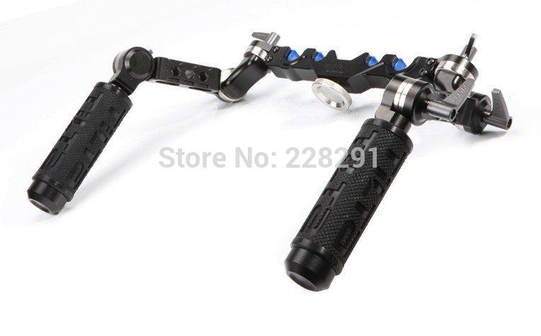 TILTA UG-T03 Universal dslr rigs Front Handgrip for 15mm / 19mm rod rail system shoulder mount Rig dslr rig double hand handgrip shoulder