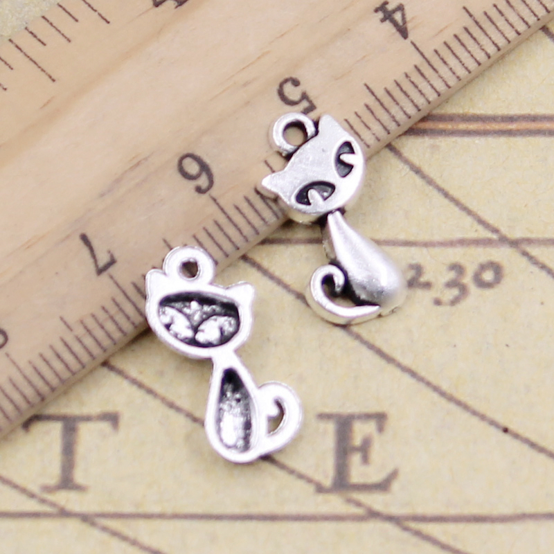 8 pcs Tibet silver US Dollar Sign Charms 17x9mm DIY Jewellery Making crafts