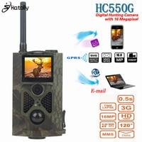 Skatolly HC550G Hunting Trail Camera 3G HD 16MP 1080P Video Night Vision MMS GMS Scouting Infrared Wildlife Game Hunter