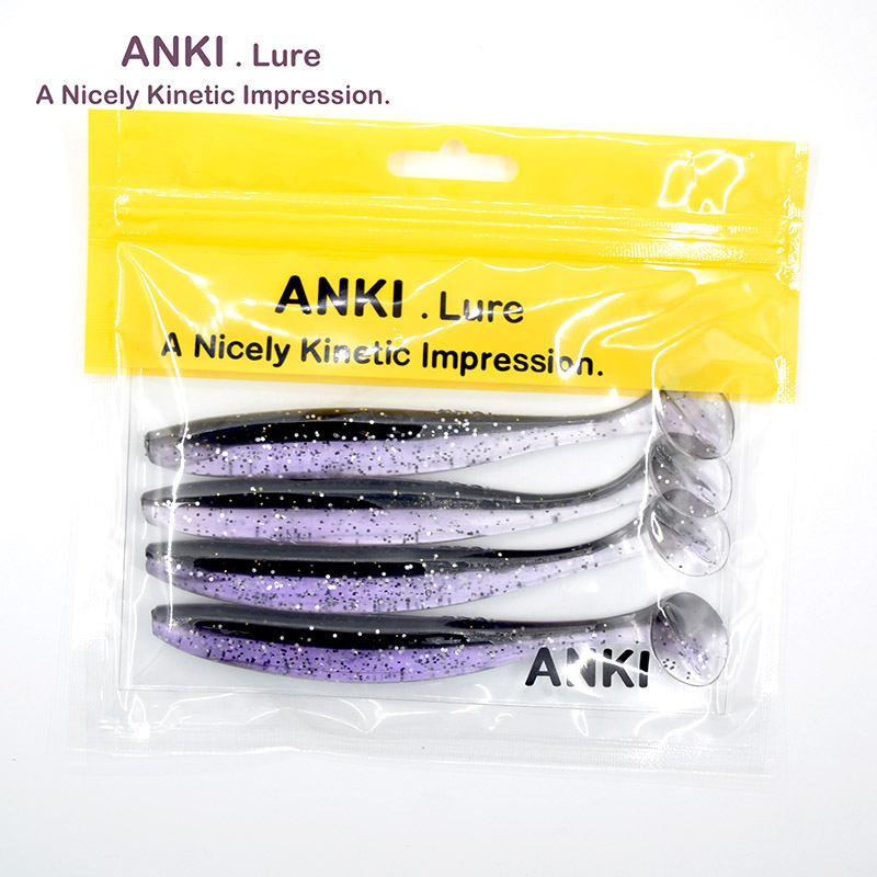 ANKI 13cm 11.5g Wobblers Fishing Soft Lures Artificial Easy Shiner Swimbaits Silicone spinner fish Bait Jig Carp Lure Peche meredith 13cm 11 5g 4pcs wobblers fishing lures easy shiner swimbaits silicone soft bait double color carp artificial soft lure