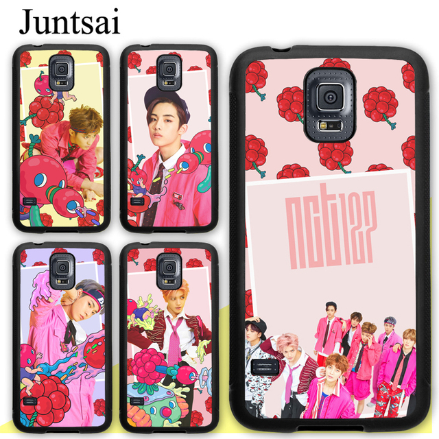 low priced ec4ac a56a0 US $2.98 5% OFF|Juntsai NCT 127 Cherry Bomb Poster Cell Phone Cases For  Samsung Galaxy S5 S6 S7 edge plus S8 S9 plus Note 4 5 8 Back Cover Coque-in  ...
