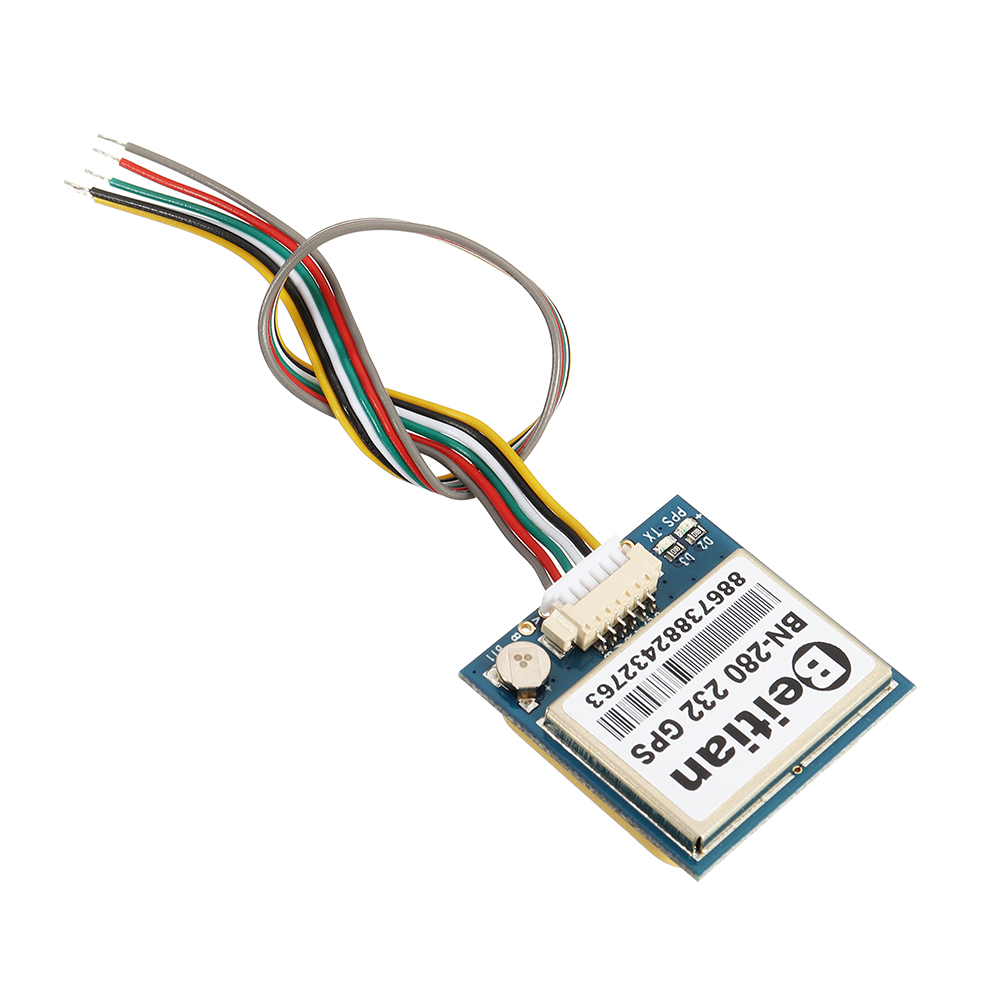<font><b>BN</b></font>-<font><b>280</b></font> RS232 GPS Module UART TTL level GPS GLONASS Dual GNSS module RS232 solution GPS module with antenna image