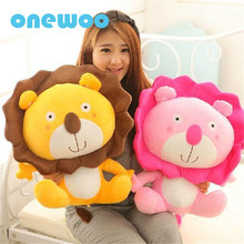 New Good Quality Cute Kawaii Lion King Plush Toys Sweet Soft Stuffed Cartoon Animals Dolls Children Appease Gifts Pillow Toys