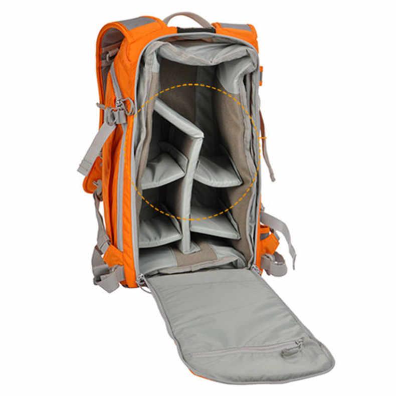 Frete Grátis Genuine Lowepro Flipside Esporte 15L AW DSLR Camera Bag Daypack Foto Mochila Com All Weather Cover