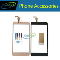 High Quality Black Color For Leagoo M8 Touch Screen Touch Digititer With Tools 1pc Lot