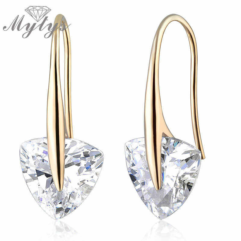Mytys Fashion Earring Designs New Model Earrings Crystal Drop Earrings E564