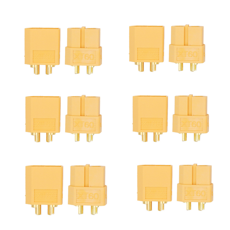 1000pair lot XT60 battery connector bullet Connectors male female Connector for RC lipo battery Connector 20