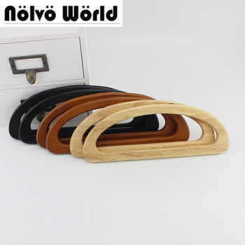 20 pairs=40 pieces,bulk order 24X9cm natural wood handle for quilting purse,solid wood D shaped bags handles,Free Fast Shipping - DISCOUNT ITEM  0% OFF All Category