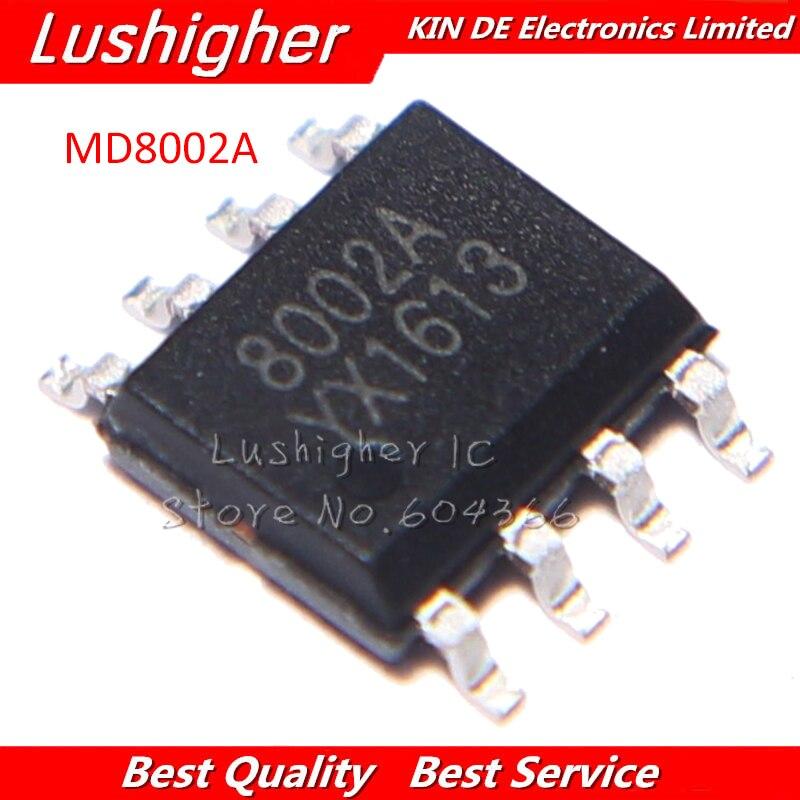 100PCS MD8002A SOP8 MD8002 SOP 8002A 8002 SMD 3W audio power amplifier