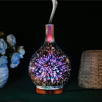 LumiParty 3D Multifunction LED Firework Light Humidifier Aroma Diffuser Colourful LED Night Light Decoration Gift