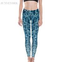 d253e822fe241d Lovely Fish Scales Digital Printing Girl S Leggings Elastic Hot Sale Women  Sportwear Neue Mode Skinny