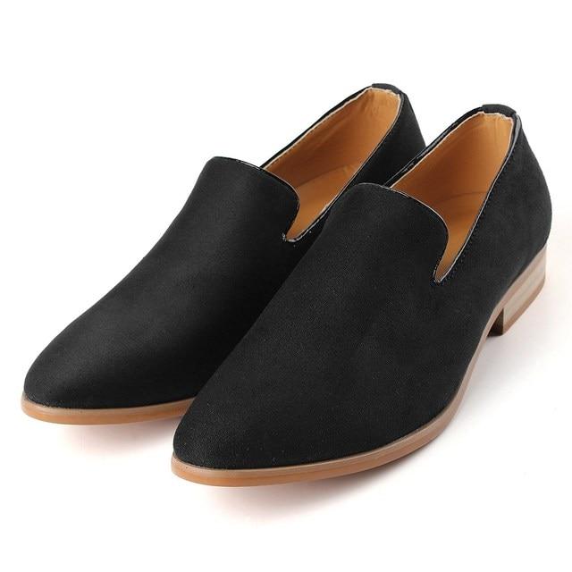 Nuovo Modo di Marca British Style Uomo Casual Slip On Fannullone scarpe  Uomo Mocassini Driving Scarpe 0e2261f9b5c