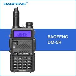 Original Baofeng DM-5R Dual Band DMR Digital Walkie Talkie dmr Transceiver 136-174MHZ/400-480MHZ CB Radio Portable Walkie Talkie