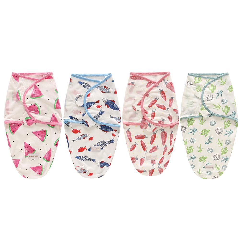 100% Baumwolle Cartoon Neugeborenen Erhalten Decken Baby Bio-swaddle Decke Infant Swaddle Wrap Kinder Krippe Schlafen Decken