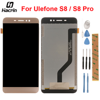 Hacrin For Ulefone S8 LCD Display Touch Panel LCD Screen Digitizer Assembly Replacement For Ulefone S8