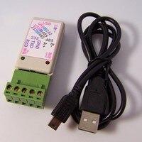 Bezpłatnego statku 3 in1 USB NA RS485/USB NA RS232/232 DO 485 adapter converter Z LED wskaźnik